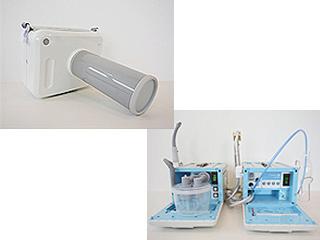 往診用機械及びポータブルレントゲン装置